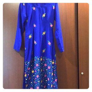 Dresses - Shalwar kameez in royal blue